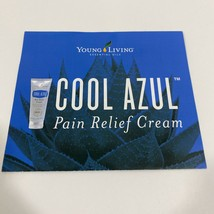 Cool Azul Pain Relief Cream Brochure - Young Living Essential Oils - $4.98