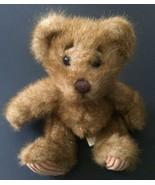 Minky Teddy Bear Stuffed Animal Plush Toy Fuzzy Corduroy Feet First And ... - $9.89