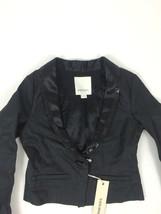 Diesel Kids' Girls' Jadya Long Sleeve Jacket Size S Color Black RPP 82 - $29.17