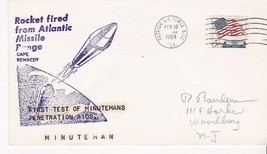 FIRST TEST OF MINUTEMANS PENETRATION AIDS PATRICK AFB, FL FEBRUARY 13, 1964 - $1.78