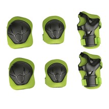 Child Protective Gear Set Sport Cycling Knee Elbow Pads with Wrist Skate... - $19.41