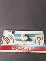 VINTAGE MONOPOLY NO 9 PARKER BROTHERS REAL ESTATE TRADING GAME 1961 - £16.83 GBP