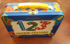 Williams-Sonoma 123 Cookie Cutters in tin lunch box2003 - $19.95