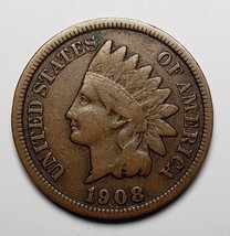 1908S Indian Head Penny / Cent Coin Lot# 818-51