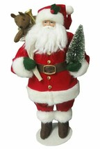 "Classic 12"" Santa Claus St Nick Christmas Figurine Holiday Decor Wondershop NEW"