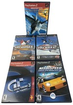 ps2 tony hawk grand turismo 3 need for speed HP2, 5 Game Lot Pro BMX 2 - $33.66