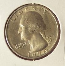 1974 Washington Quarter BU #031 image 2