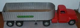 TONKA CARGO KING Ford Round Fender Cab Grain Hauler TT Truck 1950s - $186.99