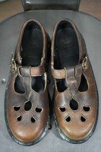 Vintage Dr Martens Schuhe UK 5 US 7 Mary Jane Braun 27.4ms Made in England - $80.00