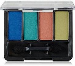 Covergirl Eye Shadow Quad Tropical Fusion, bright blue full size 205 satin - €6,27 EUR