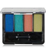 Covergirl Eye Shadow Quad Tropical Fusion, bright blue full size 205 satin - €6,16 EUR
