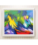 """HOME DECOR HIGH QUALITY OIL PAINTING Print ON CANVAS:""""Pinturas Abstractos"""" - $19.16"""