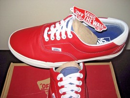 White Racing Mens Skate Sport Vintage Vans Red size Era 59 NWT 9 shoes Boat Z1Rqw0F