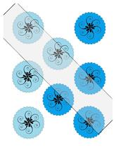 Scallop Circles Flower21-Download-ClipArt-ArtClip-Digital Tags-Digital - $3.99