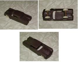 Brown Car Soft Plastic Toy Car Vintage F&F Cereal Premium Vintage Thunde... - $18.99