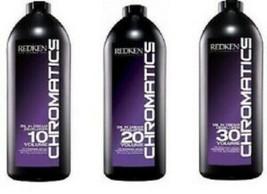 Redken Chromatics Oil In Cream Developer 32 Oz. (Choose Your Volume) - $21.99