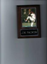 JIM PALMER PLAQUE BASEBALL BALTIMORE ORIOLES O's MLB - $2.86