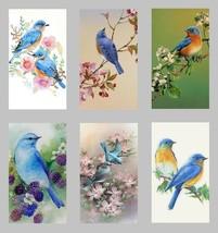 Set of 6 Bluebird Magnets - $19.99