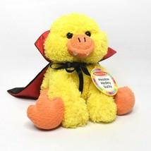Melissa & Doug Dracula Duck Plush Meadow Medley Ducky Halloween Stuffed Animal - $20.56