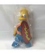 Meet The Simpsons Bart Simpson Doll In Package Vintage Burger King - $19.79