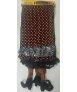 """WITCH LEGS TABLE RUNNER 70.86"""" Long Darice Halloween Polyester  - $25.23"""