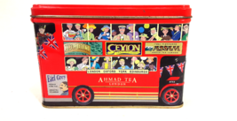 Ahmad Tea Red Double Decker London Bus Collectible Tin Metal Coin Piggy ... - $12.99