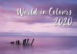 World in Colours Poster Calendar 2020 by Helma - $14.84