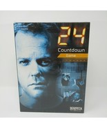 24 Countdown Board Game Classic Kiefer Sutherland Jack Bauer Show SEALED - $9.46