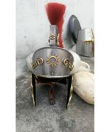 Bhallal Dev 18G Medieval SCA LARP Roman Gallic/Centurian Helmet Cosplay ... - $85.00