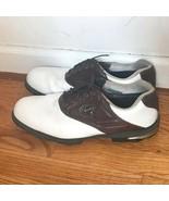 Footjoy Gel Fusion Brown Saddle Golf Shoes 11.5 - $89.99