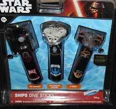 Brand New SwimWays Star Wars 3D Dive Ships Sticks Pool Toys  image 2