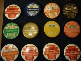 Pennsylvania PA Fishing License Collection 1932 - 1975  image 3