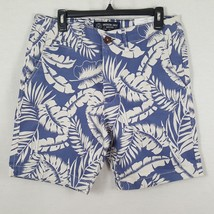 American Eagle Shorts Men's Size 30 Blue White Floral Cotton Hawaiian NWT - $28.96