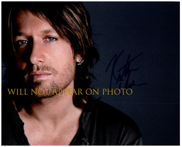 KEITH URBAN SIGNED AUTOGRAPHED 8X10 PHOTO w/ Certificate of Authenticity 5728 - $145.00