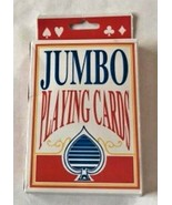 Jumbo Playing Cards Coated total 54 in Set - $10.50