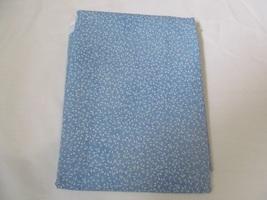 Medium Toned Blue & White Leaf Quilting Fabric JoAnn Fabrics 1 Yard - $9.60