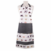 Cats Apron Tabby Siamese Kittens Peeping Felines Ashdene Pocket Paw Prin... - $29.69