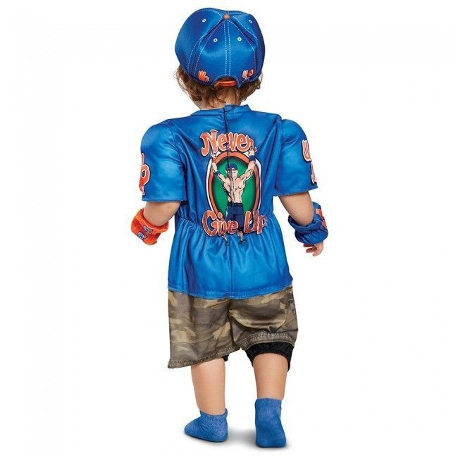 Disguise Wwe John Cena Muscolo Bambini Wrestling Costume Halloween 66832