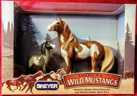 Breyer Horse SIROCCO & Moonshadows Colt #750114 Wild Mustang Stallion NIB - $25.69
