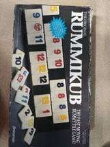 Vintage 1990 Pressman ORIGINAL RUMMIKUB Game Used Complete - $12.26