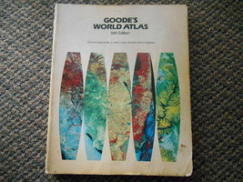 Vintage 1983 Goode's World Atlas 16th Edition Maps Rand McNally Edward J... - $9.99
