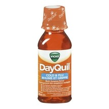 Vicks DayQuil Cold & Flu Multi-symptom Relief 236ML FRESH FROM CANADA - $12.82