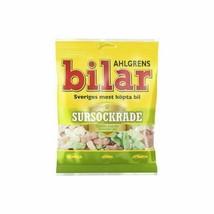 Ahlgrens Bilar SURSOCKRADE sour candies 130g Made in Sweden-FREE SHIPPING- - $7.77
