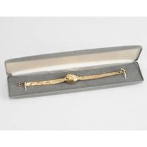 Longines Vintage Ladies 14K SOLID Gold Case Solid Gold Band Bracelet Dress Watch - $1,930.50