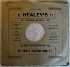 Healey's Gramophone Specialists UK Custom 10' 78rpm Record Sleeve - $19.77