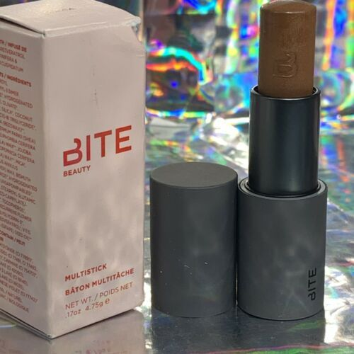 NIB Bite Beauty Rare HTF MULTISTICK in Shade COCOA full size 4.75g