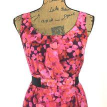 SET Ann Taylor LOFT Dress J.Crew Clare Cardigan Sweater Pink Purple Black 2 S LN image 4