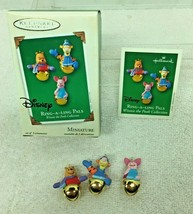 2003 Ring a ling Pals Winnie the Pooh  Hallmark Christmas Tree Ornament MIB - $12.38