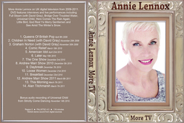 ANNIE LENNOX - MORE TV DVD - $23.50