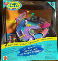 Vintage Polly Pocket Pool Party Magical Swimabout Playset NEW SEALED Rar... - $197.99